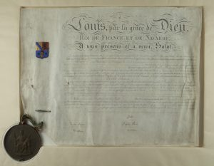 French Royal Patent
